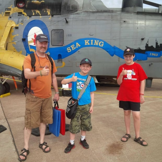 Thumbs-up for the Sea King