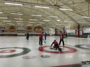 Gay curling championship