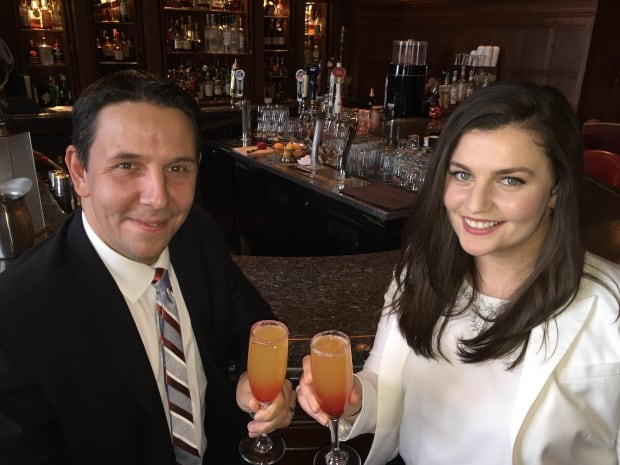 The Hotel Macdonald's Steven Walton and Anna Khlgatian are ready for Valentine's day
