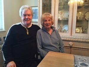 Raymond and Betsy Arnott