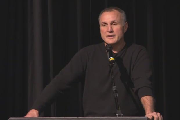 Paul Coffey in Regina