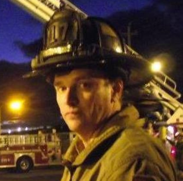 Glace Bay Fire Department Chief John Chant