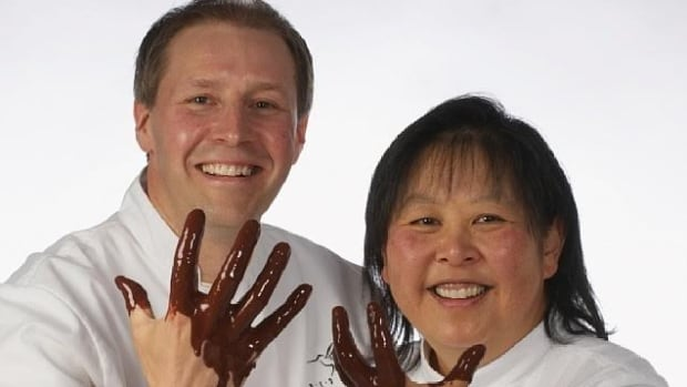 Cindy and Dominique Duby met at a common employer, and after their relationship started they went to Europe to study the art of making chocolate.