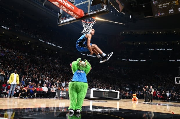 Toronto dunk contest