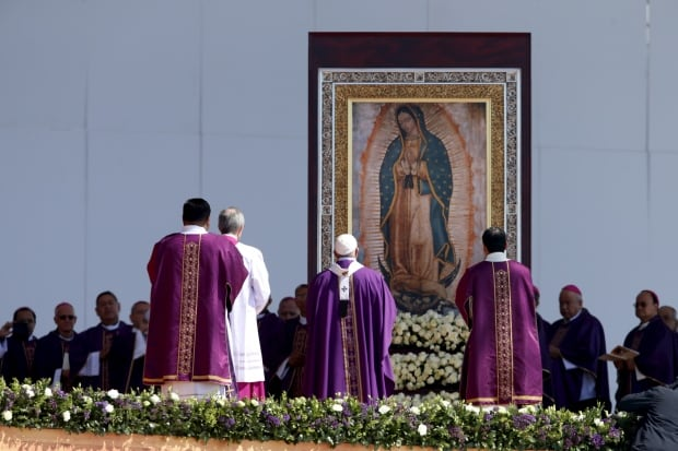 POPE-MEXICO/