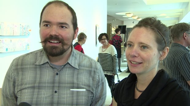Chris Kailing and his wife Jennifer Barrett