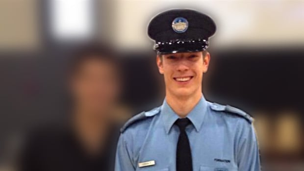 Thierry LeRoux, 26, has been identified as the police officer shot dead Saturday in Lac-Simon.