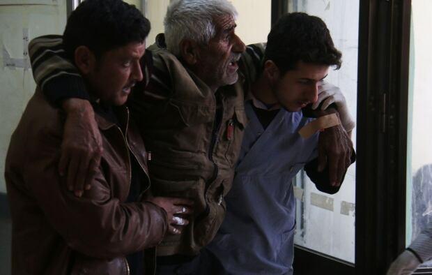 Azaz Syria airstrike