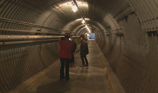 Diefenbunker Museum tunnel generic Ottawa Carp Feb 14 2016 escape room