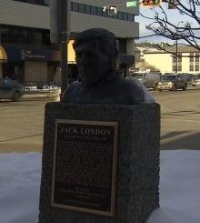 Jack London Sculpture