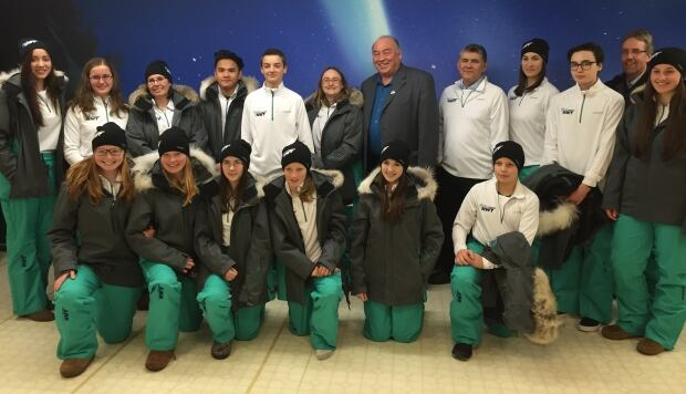 Team NWT Arctic Winter Games uniforms