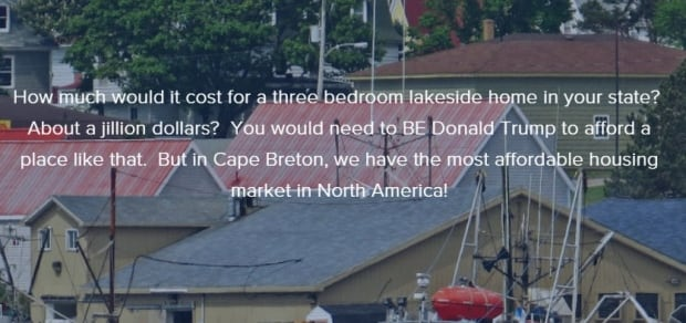 Cape Breton if Trump wins real estate