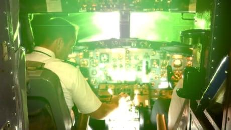 WestJet pilot's eyes burned by laser on flight from Newfoundland to Florida
