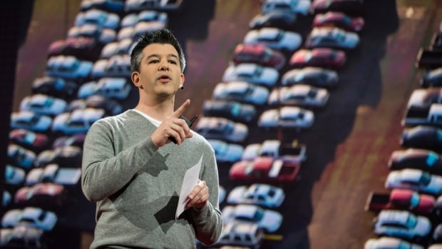Uber CEO Travis Kalanick takes on his familiar foe at TED: regulations, which he claims are standing in the way of cutting pollution and traffic woes.