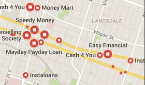 Payday Loan Building Locations