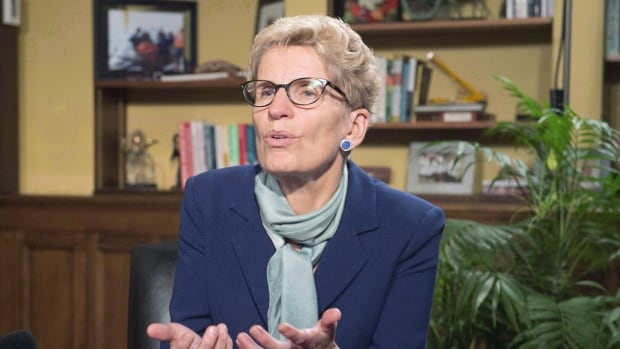"""Ontario will set up an anti-racism directorate - 10 years after it was supposed to -  because """"the focus on issues of racism has sharpened over the past year, Ontario Premier Kathleen Wynne said. (Frank Gunn/Canadian Press)"""