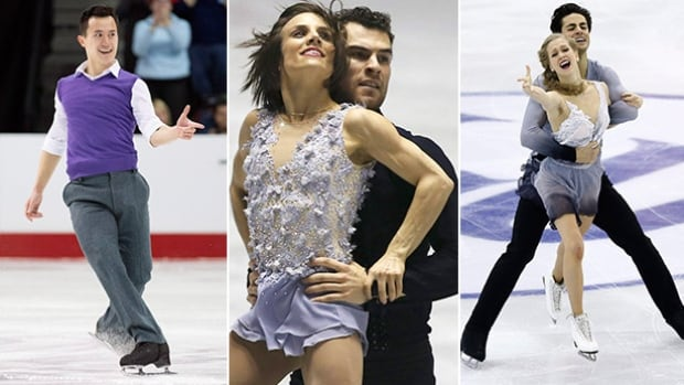 From left to right: Canadians Patrick Chan, Meagan Duhamel and Eric Radford, along with Kaitlyn Weaver and Andrew Poje have Four Continents titles in their sights.