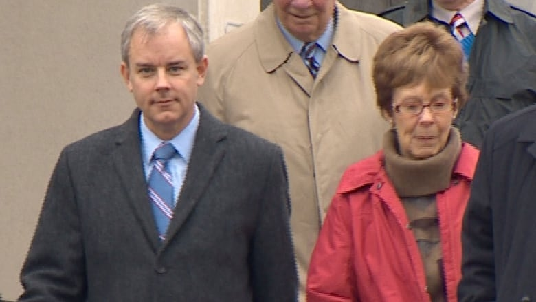 Dennis Oland's mother, Connie, shares 'living hell'