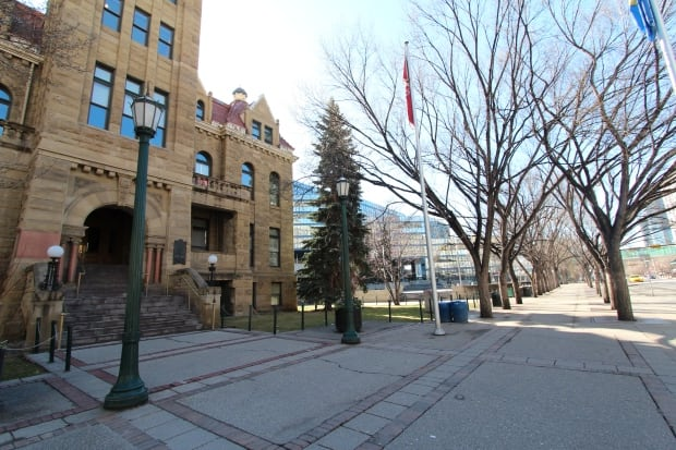 Old city hall Calgary