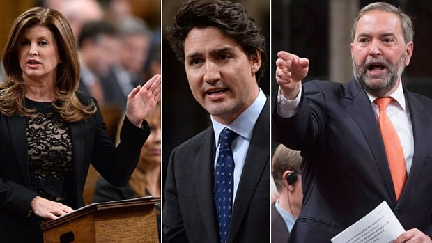 Appearing in question period for the first time since announcing his government's new plan to combat ISIS, Prime Minister Justin Trudeau was attacked by Interim Conservative Leader Rona Ambrose for pulling out of the combat mission and by NDP Leader Thomas Mulcair for committing to a combat mission.