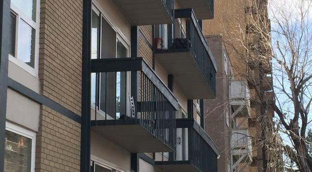 Calgary apartment building