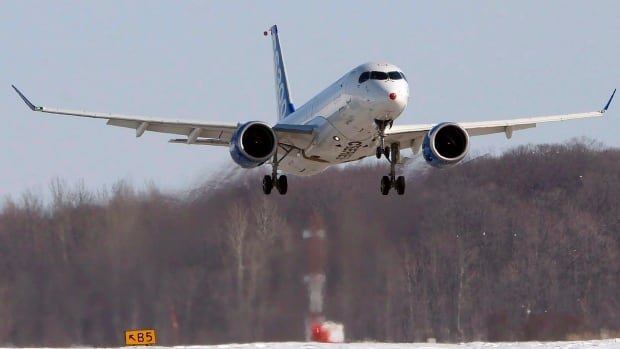 The U.S. government recently slapped preliminary duties totalling more than 300 per cent of the price for Bombardier's CSeries jets sold south of the border.
