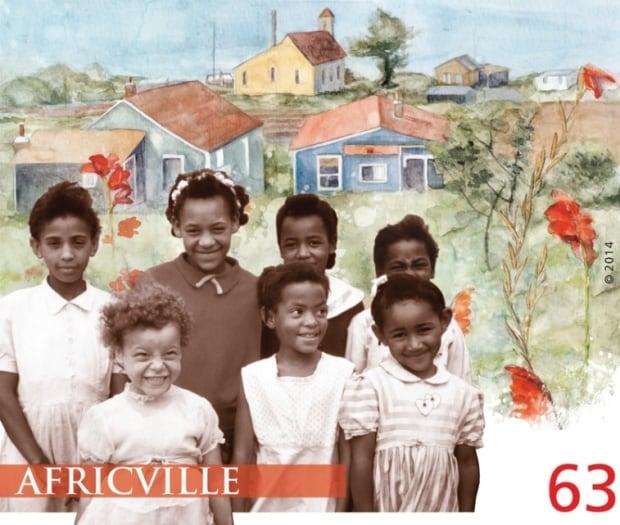 Africville Stamp
