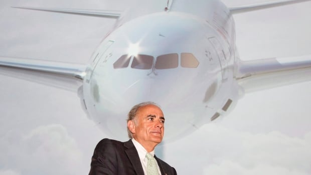 Air Canada CEO Calin Rovinescu said he won't report traffic numbers monthly any more. 'If short-term investors don't like this, I can encourage them to leave,' he said.