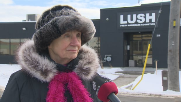 Helen Wojciechowicz lives near the Lush soap factory on Jutland Road in Etobicoke. She says the smell coming from the factory is making her sick.
