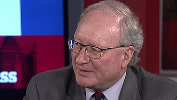 P.E.I. Premier Wade MacLauchlan talks with CBC Compass host Bruce Rainnie.