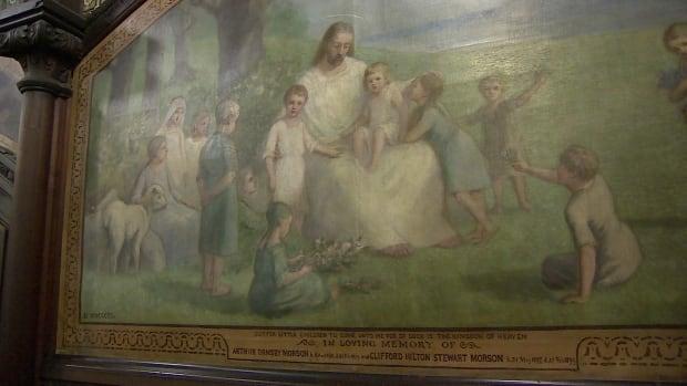 Robert Harris mural in All Souls' Chapel Charlottetown
