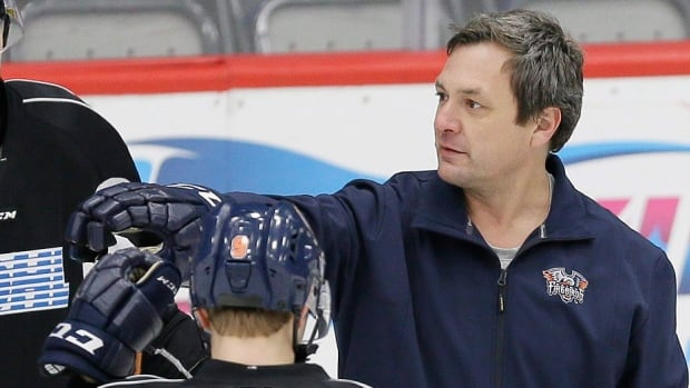 John Gruden on Wednesday was fired for a second time this season as head coach and GM of the Ontario Hockey League's Flint Firebirds, effective immediately. Dave Karpa was also let go for a second time, while fellow assistant coach Petr Jonak is staying on. Director of hockey operations Sergei Kharin was named interim head coach. The league is reviewing the team's decision.