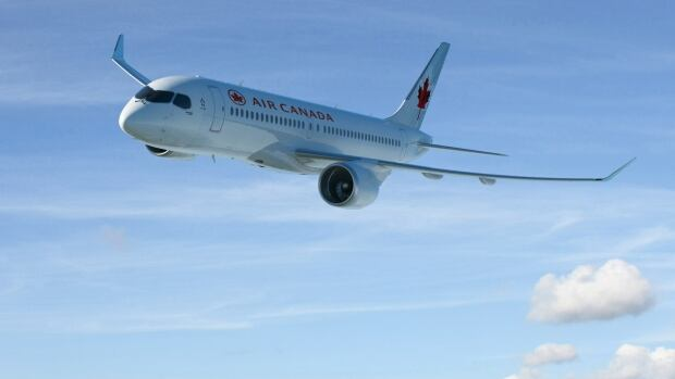 C series in Air Canada colours