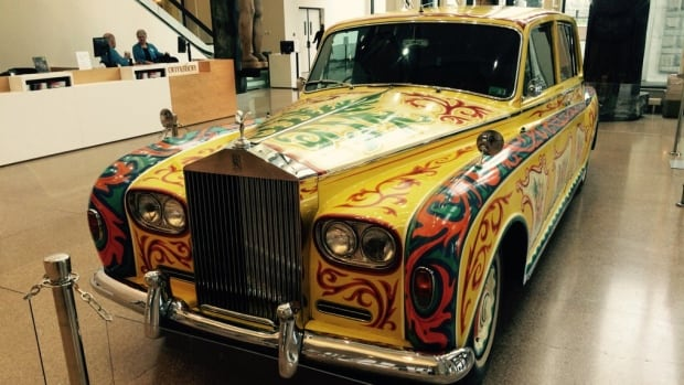 John Lennon's famed Rolls Royce is back on display at the Royal B.C. Museum in Victoria.