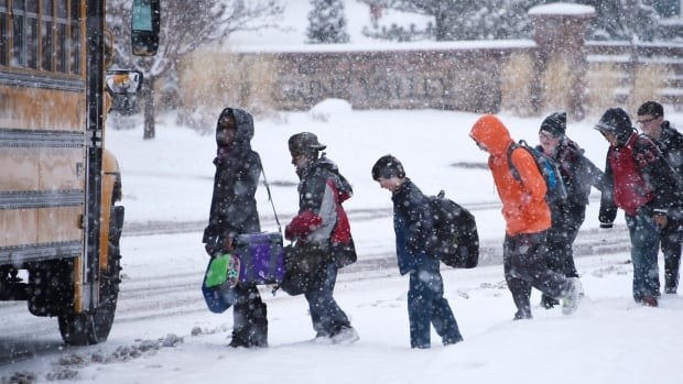 Students from the Western Quebec School Board have not had a snow day in years as school buses are rarely cancelled.