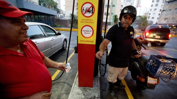 The Venezuelan government was forced to hike the price of gas for the first time in more than 20 years in February. The country has been hit hard by the global drop in crude oil prices.