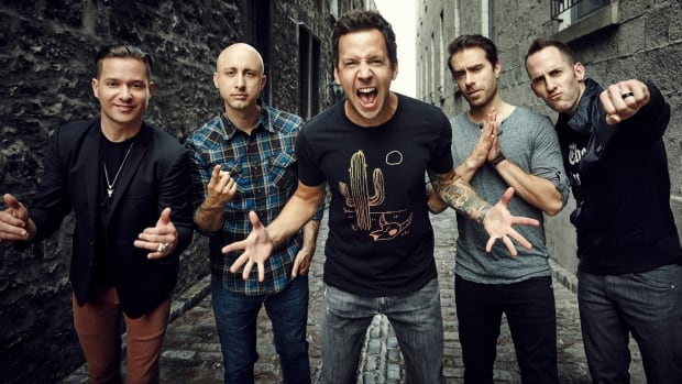 Simple Plan are a pop punk band from Montreal, Que.