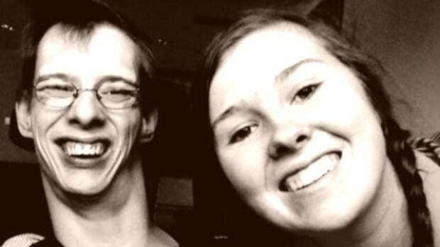 A Maddie Hughes and Josh Tenbrinke selfie.