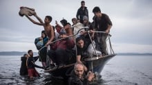 World Press Photo 2016 General News 1st prize stories winner migrant crisis by Sergey Ponomarev