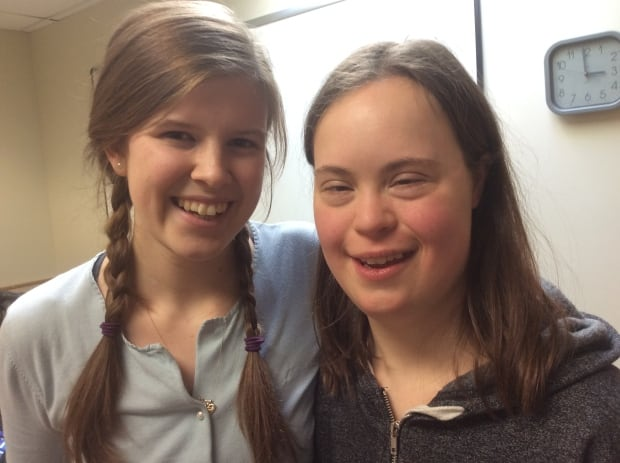 UPEI Best Buddies Kate Philip and Rachael Loggie