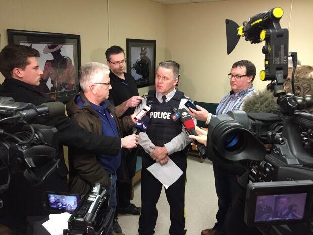 Yorkton RCMP media conference