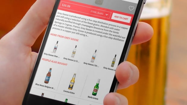 Drizly app users can order almost any wine, beer and spirit products from Edmonton Liquor Depot and Liquor Barn stores.