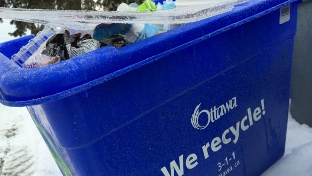 In Ottawa, residents throw about 30 per cent of their overall waste into their curbside recycling bins. For people who live in multi-residential complexes, that recycling rate is about 15 per cent.