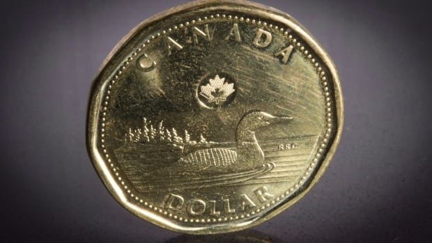 The Canadian dollar rose Tuesday as the U.S. greenback fell because of perceptions the Fed will not raise rates in April.