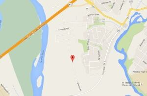 Map of where Brookpoint Estates in Cambridge is going