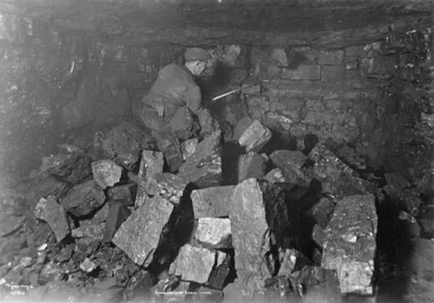 Edmonton coal mine