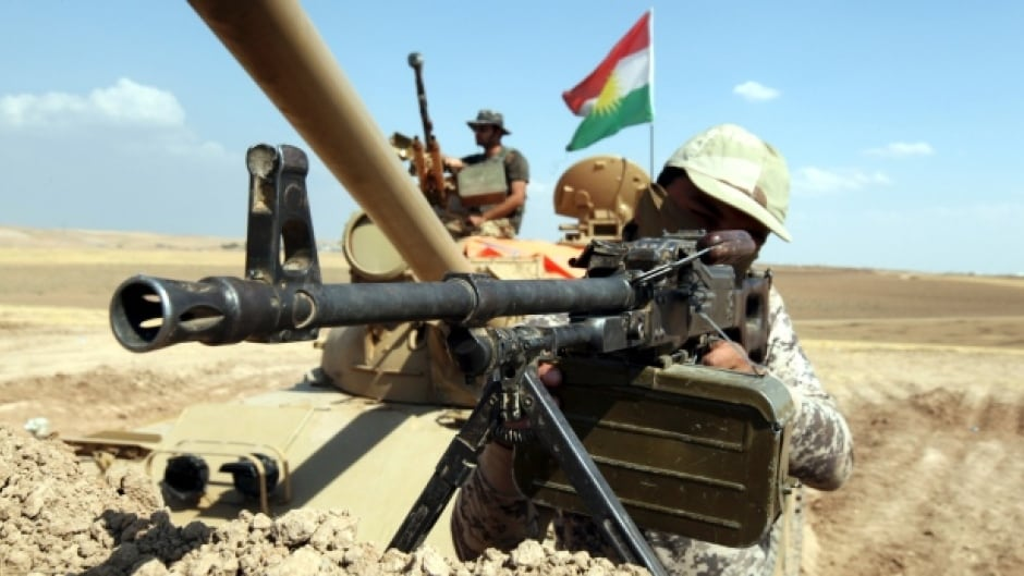 Canada is backing Kurdish Peshmerga troops in their fight against ISIS.