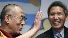 Thupten Jinpa and the Dalai Lama in Australia