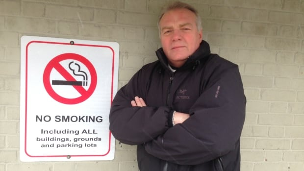 Jonathan Crowe has often encountered smokers outside St. Clare's Mercy Hospital, most of them seemingly oblivious to the prohibition on smoking.