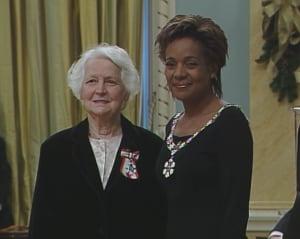 Esther Braden order of Canada